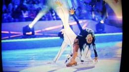 Парная гимнастика на льду