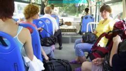 Китайский автобус