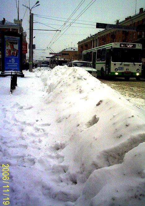 Снег идёт третий день