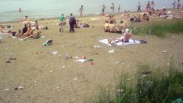 Куйбышевский пляж жив