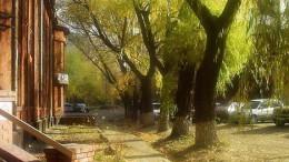 Осень на Красном пути