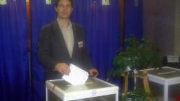 голосую на рабочем месте