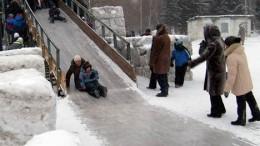 Традиционная зимняя забава