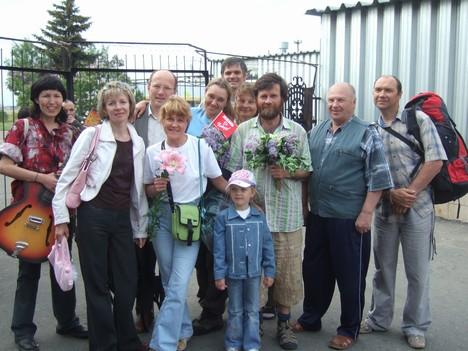 Встреча омской экспедиции в аэропорту