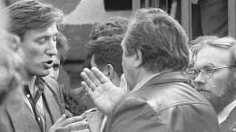 Митинг 1988 года на Динамо. Полемика