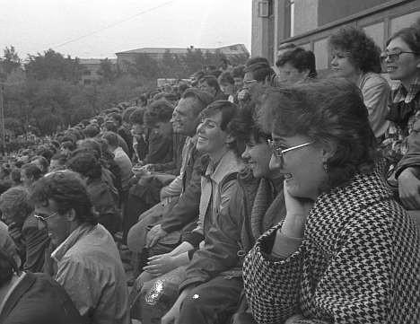 Митинг 1988 года на Динамо. Амфитеатр