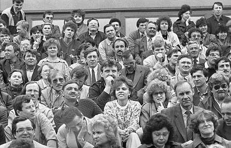 Митинг 1988 года на Динамо. Какие люди!