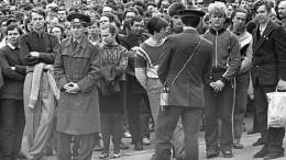 Митинг 1988 года на Динамо. Милиция