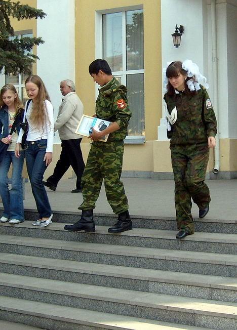 Гармонизация воинских рядов