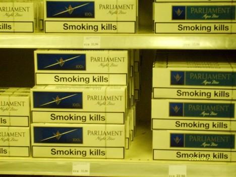 Европа борется с курением