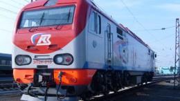Новый локомотив в Омске