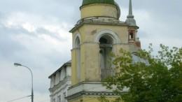 в Москве башни падают