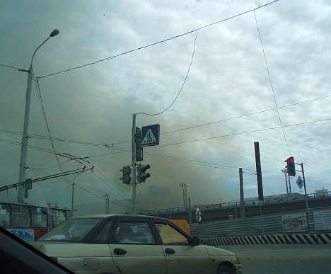 Пожар со ртутью