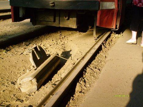 Соленоид оторвался от трамвая