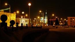 Ночной Омск. Успенский Собор