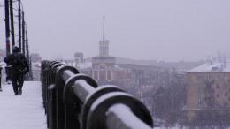 Омск. Зима.