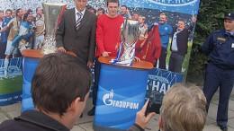 Кубок и Супер кубок UEFA в Омске