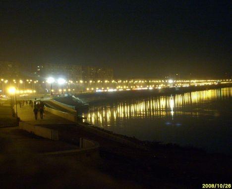 Вечер на Иртышской набережной