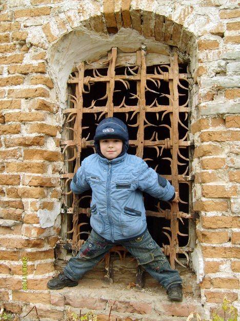 На развалинах Омской крепости