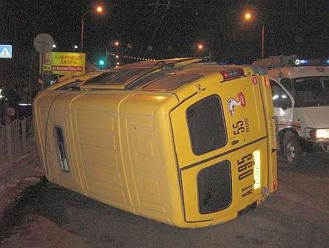 ДТП 17.12.2008: вбок колесами