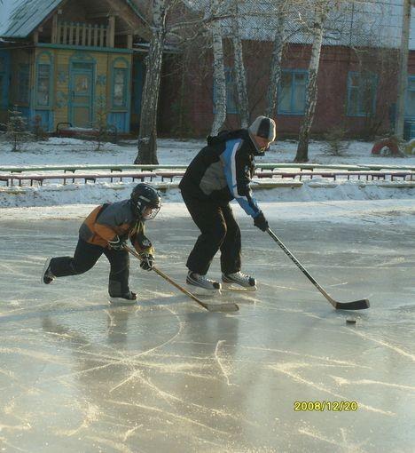 Сибиряки закаляются с детства
