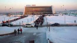 Арена «Омск» с автобусной остановки «Мостотряд»