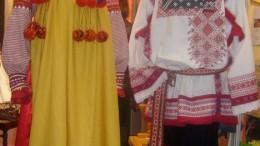 Нарядный омский костюм