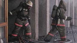 Пожар в РЦСО. Без жертв