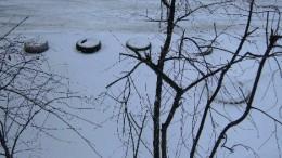 Снег 12 апреля 2009 года