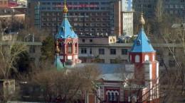 Церковь на территории госпиталя