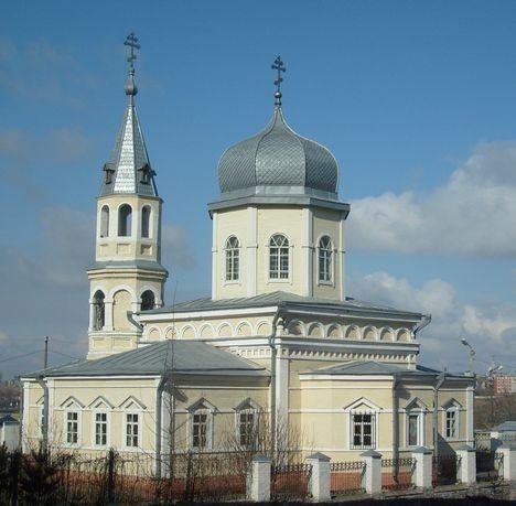 Церковь белая