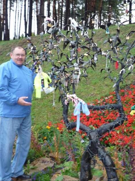 Дерево Любви на курорте Белокуриха