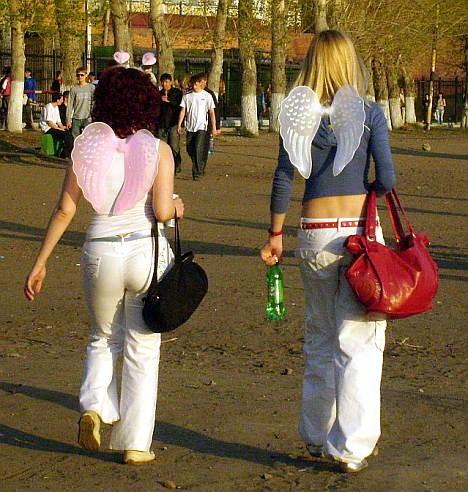Ангелы на Куйбышевском пляже