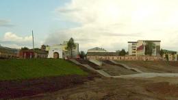 Берег Иртыша у Тобольских ворот