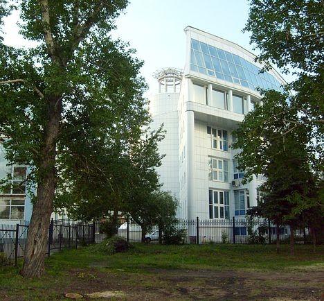 Частное строение на территории Омской крепости