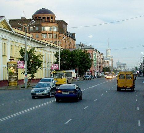 Проспект Карла Маркса в Омске