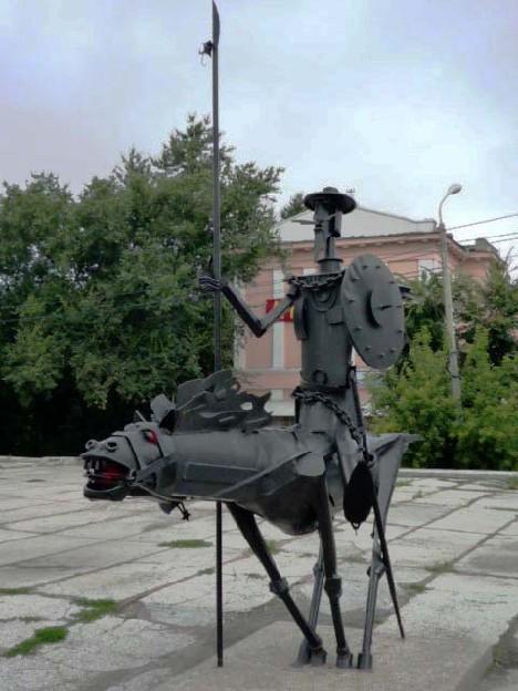 Дон Кихот в Омске