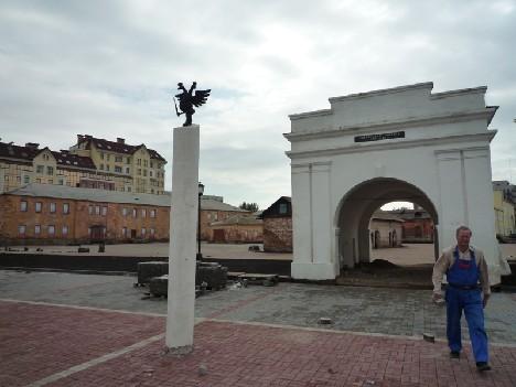 В Омской крепости
