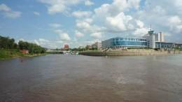 Омск. Взгляд с реки