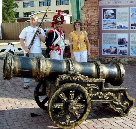 Французский солдат в Омской крепости