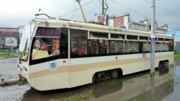 Трамвай 71-619К Усть-Катав