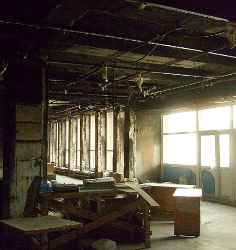 ОПЦ после пожара