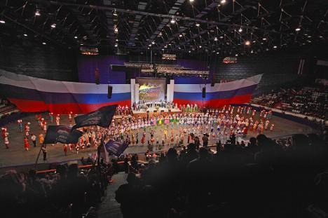 День народного единства. Полный зал