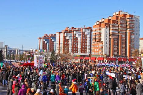 День народного единства. Полная площадь