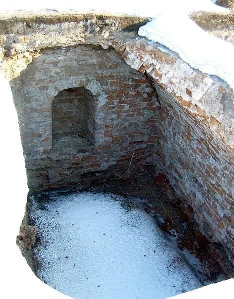 Подземная келья Воскресенского собора