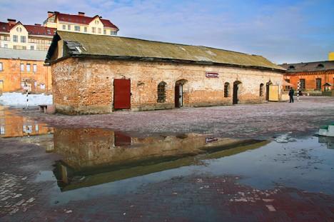 Весна ,старая крепость-2010г