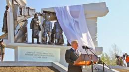 Открытие памятника Омичам-труженикам тыла 1941-1945 годов