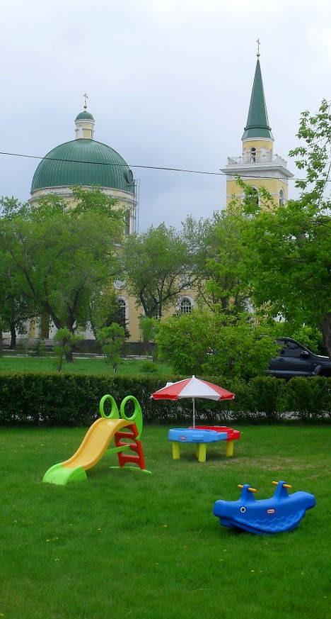 Оазис в центре города