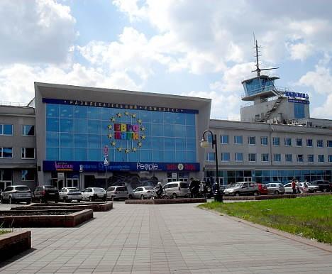 Здание омского речного вокзала