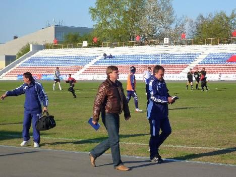 Тренерский штаб Иртыша